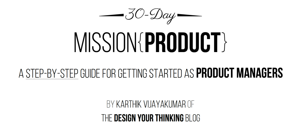 the 30 day mission product