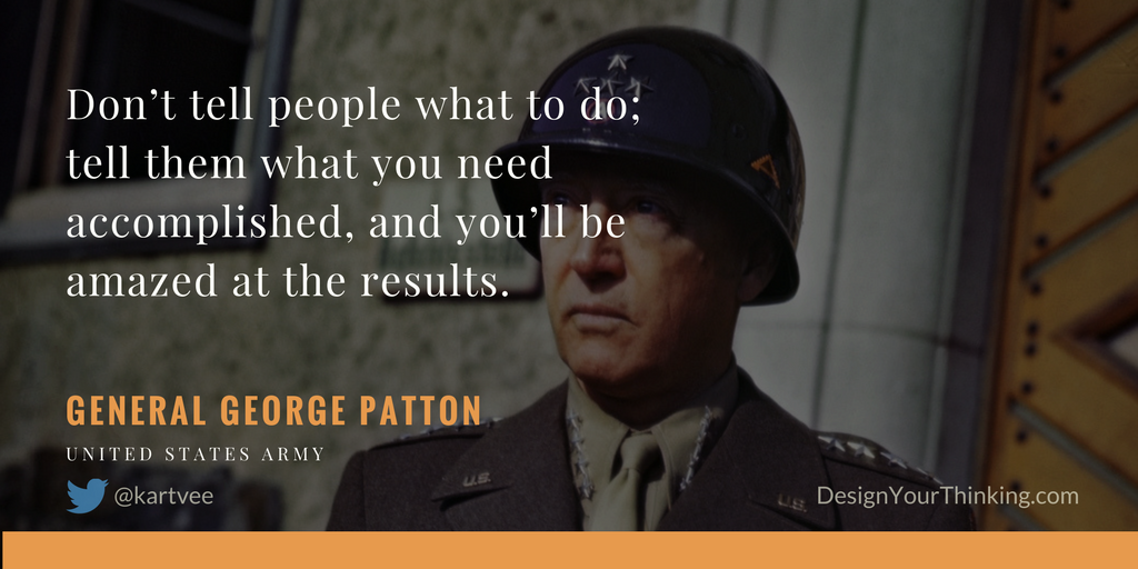roadmaps and general patton