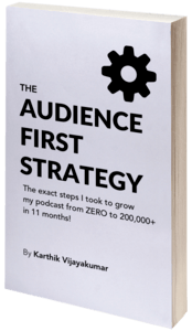 audience first audience building strategy