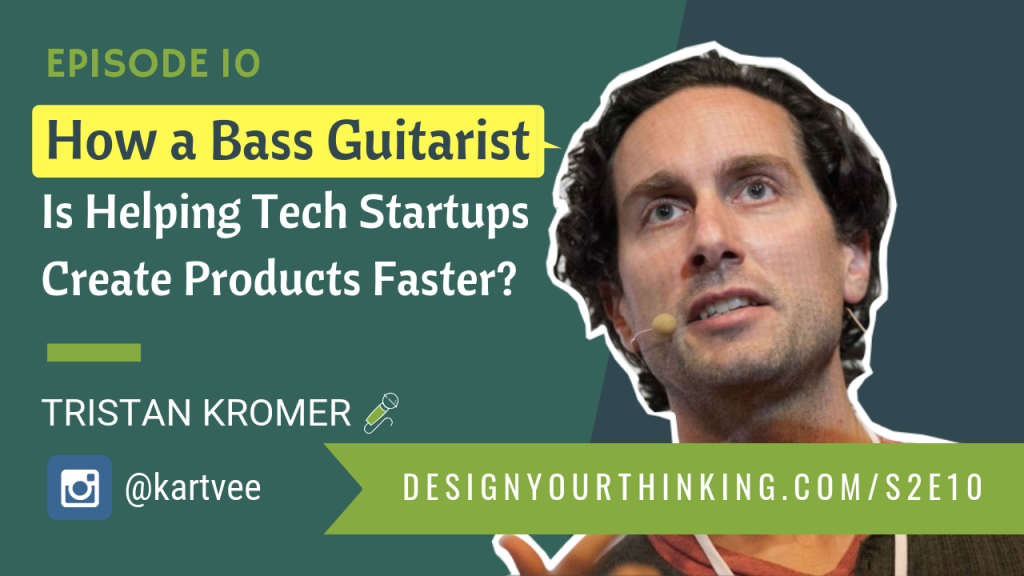 bass guitarist helping tech startups