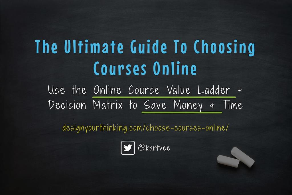 how to choose courses online