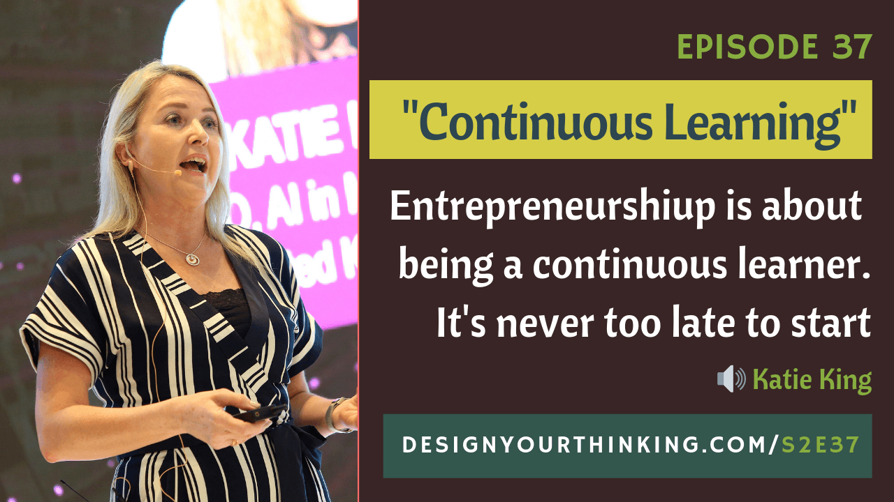 How Continuous Learning Helped Me Become an Entrepreneur In My 40s?