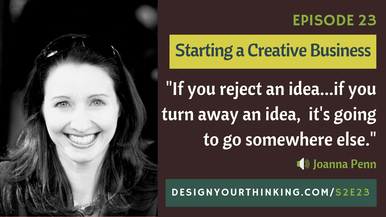 creative business with joanna penn