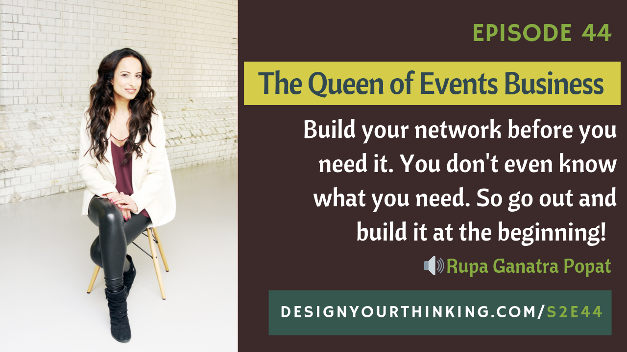 the queen of events business rupa ganatra popat
