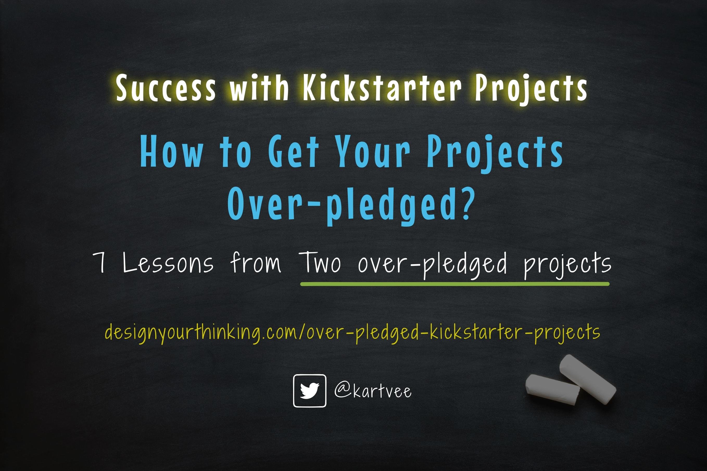 over pledged kickstarter projects