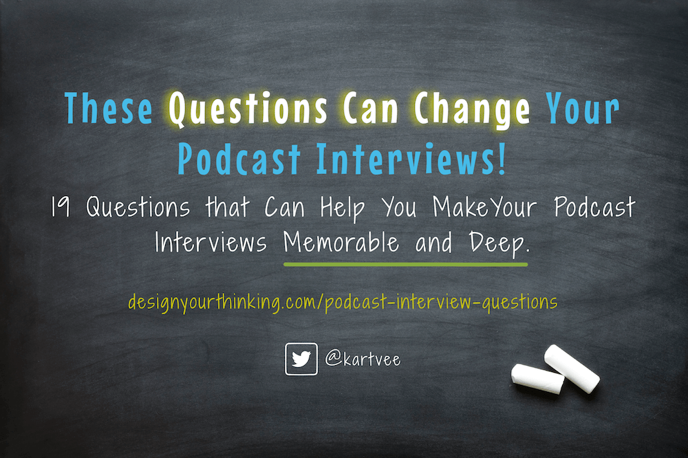 podcast interview questions