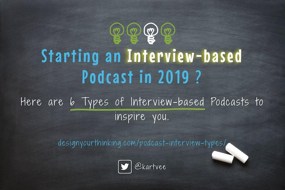 podcast interview types