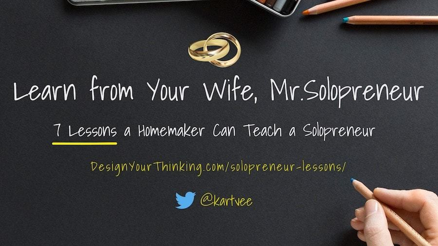 solopreneur lessons homemaker