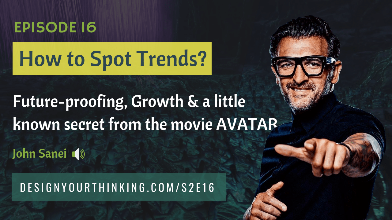 trendspotting and futureproofing business with John Sanei