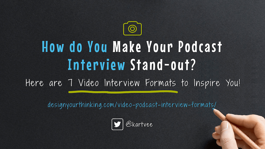 video podcast interview formats