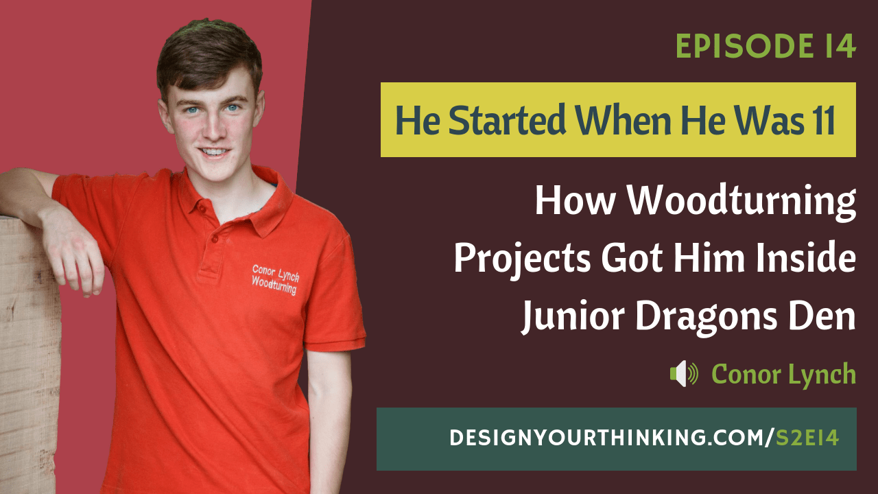woodturning projects dragons den with conor lynch